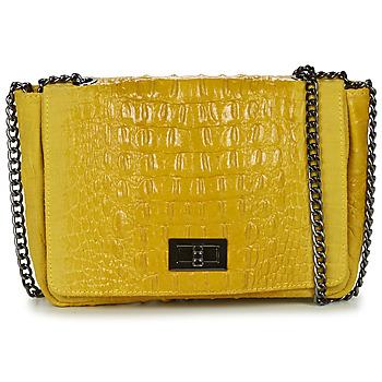 Bags Women Shoulder bags André CROQUANTE Yellow