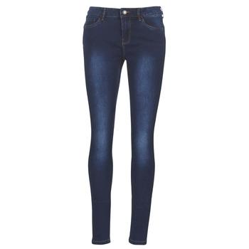 material Women slim jeans Vero Moda VMSEVEN Blue / Dark