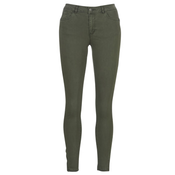 material Women 5-pocket trousers Vero Moda VMSEVEN Kaki