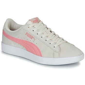 Shoes Women Low top trainers Puma VIKKY WNS V2 Beige