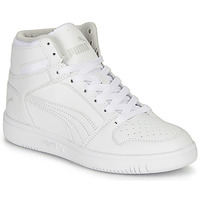Shoes Children High top trainers Puma REBOUND LAYUP B White