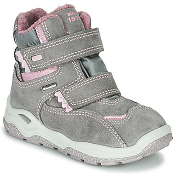 Shoes Girl Mid boots Primigi (enfant) WICK GORE-TEX Grey / Pink