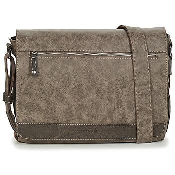 Bags Men Messenger bags Wylson HORNET Taupe