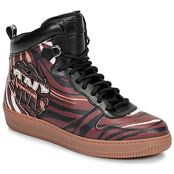 Shoes Men High top trainers Roberto Cavalli 8343 Multicoloured