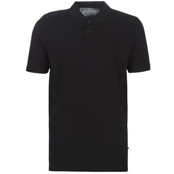 material Men short-sleeved polo shirts Jack & Jones JJEBASIC Black