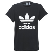 material Women short-sleeved t-shirts adidas Originals BOYFRIEND TEE Black