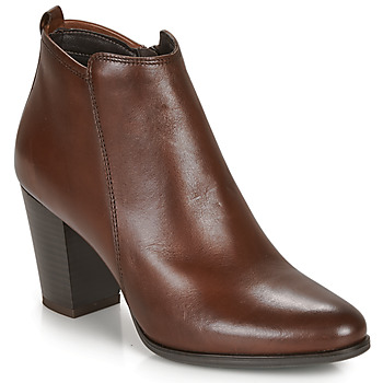 Shoes Women Mid boots André MAGDA Brown