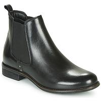 Shoes Women Mid boots André MAGIC Black