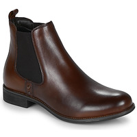 Shoes Women Mid boots André MAGIC Brown