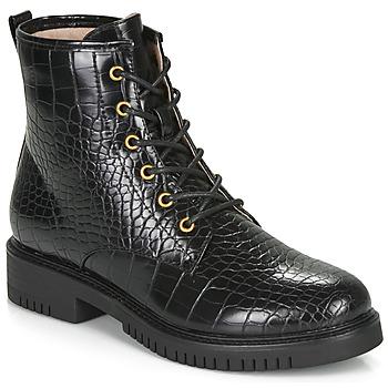 Shoes Women Mid boots André NAJOUA Black