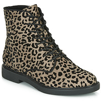 Shoes Women Mid boots André NERON Grey