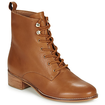 Shoes Women Mid boots André ELOGE Camel