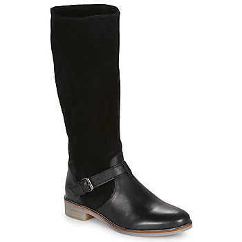 Shoes Women Boots André ELIA Black