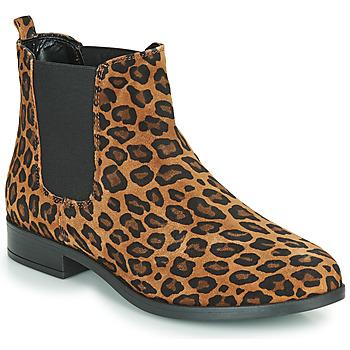 Shoes Women Mid boots André ELEGANTE Leopard