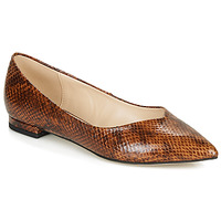 Shoes Women Ballerinas André LISERON Brown