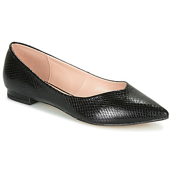Shoes Women Ballerinas André LISERON Black / Motif