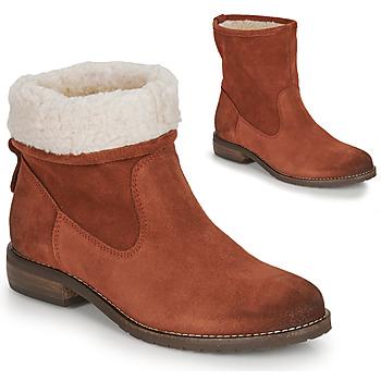 Shoes Women Mid boots André ERIKA Orange