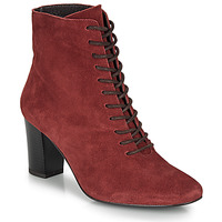Shoes Women Ankle boots André MELUSINE Red