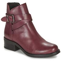 Shoes Women Mid boots André NELL Bordeaux