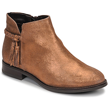 Shoes Women Mid boots André MILOU Gold