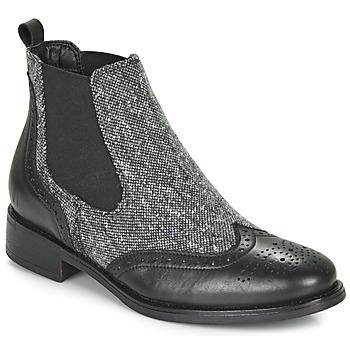 Shoes Women Mid boots André EGLANTONE Black