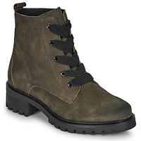 Shoes Women Mid boots André ELISE Kaki