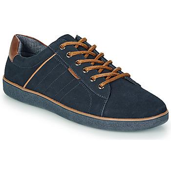 Shoes Men Low top trainers André ELTON Marine
