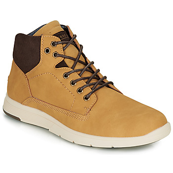 Shoes Men High top trainers André AVONDALE Camel