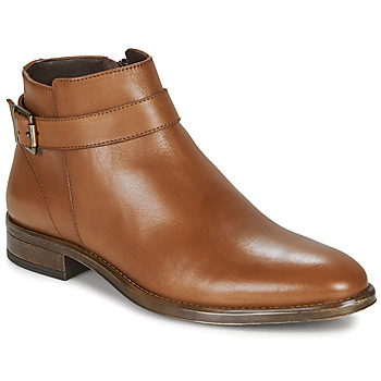 Shoes Men Mid boots André NORDY Cognac