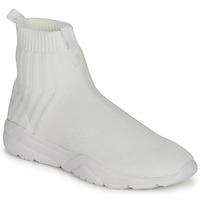 Shoes Men High top trainers André LUNAIRE White