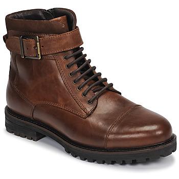 Shoes Men Mid boots André SANTOS Cognac
