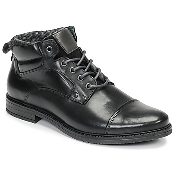 Shoes Men Mid boots André VABON Black