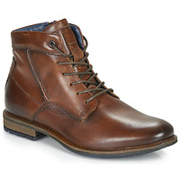 Shoes Men Mid boots André CHIROS Brown