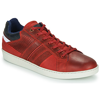 Shoes Men Low top trainers André SNEAKSHOES Red
