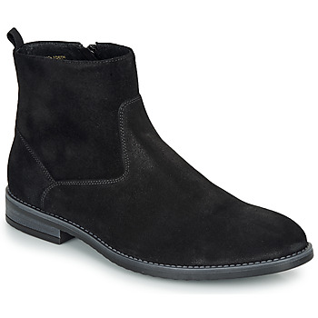 Shoes Men Mid boots André LEMAN Black