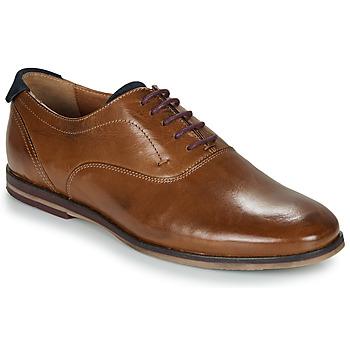 Shoes Men Brogue shoes André ROUSSEL Cognac