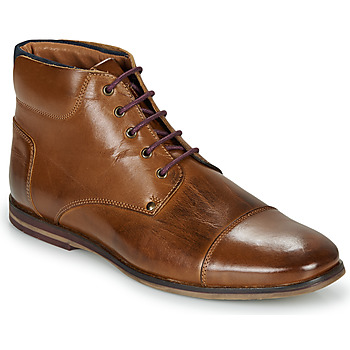 Shoes Men Mid boots André SOMMET Brown