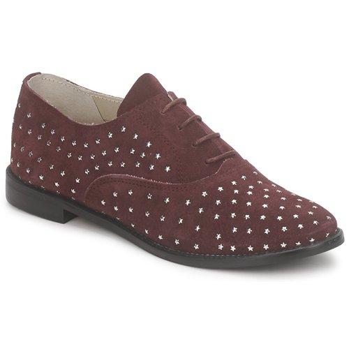 Shoes Women Brogue shoes Meline DERMION BIS Bordeaux
