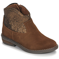 Shoes Girl Mid boots André DOLLY Camel