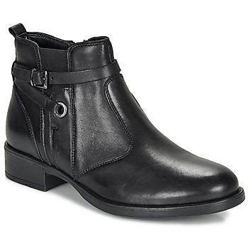 Shoes Girl Mid boots André MATHI Black