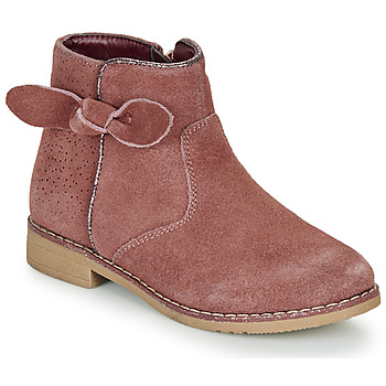 Shoes Girl Mid boots André MALYA Pink