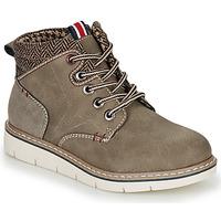 Shoes Boy Mid boots André GIL Kaki
