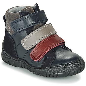 Shoes Boy Mid boots André NOAM Marine