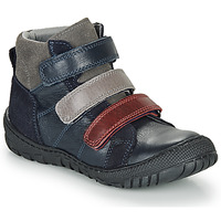 Shoes Boy Mid boots André NOAM Marine