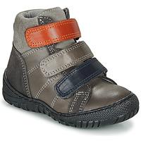 Shoes Boy Mid boots André NOAM Grey