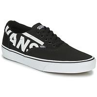 Shoes Men Low top trainers Vans WARD MEN LOGO Black
