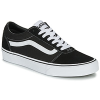 Shoes Men Low top trainers Vans WARD M Black