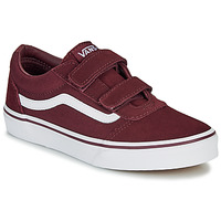 Shoes Children Low top trainers Vans WARD JU VL BDX Bordeaux