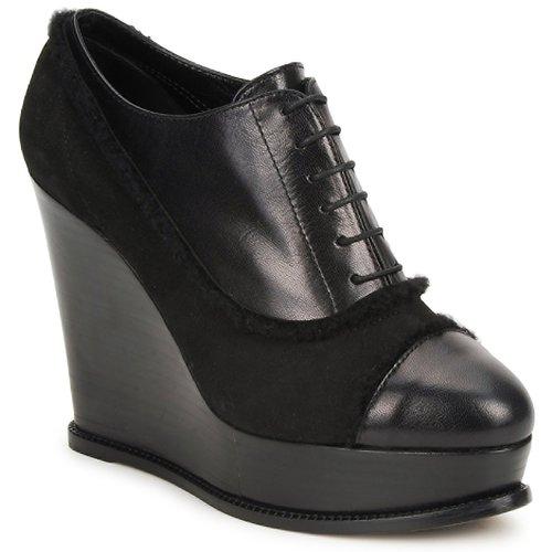 Shoes Women Low boots Moschino Cheap & CHIC CA1014 Black