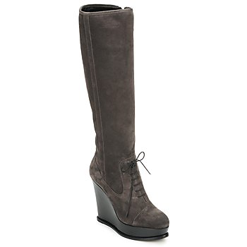 Shoes Women Boots Moschino Cheap & CHIC CA2603 Taupe